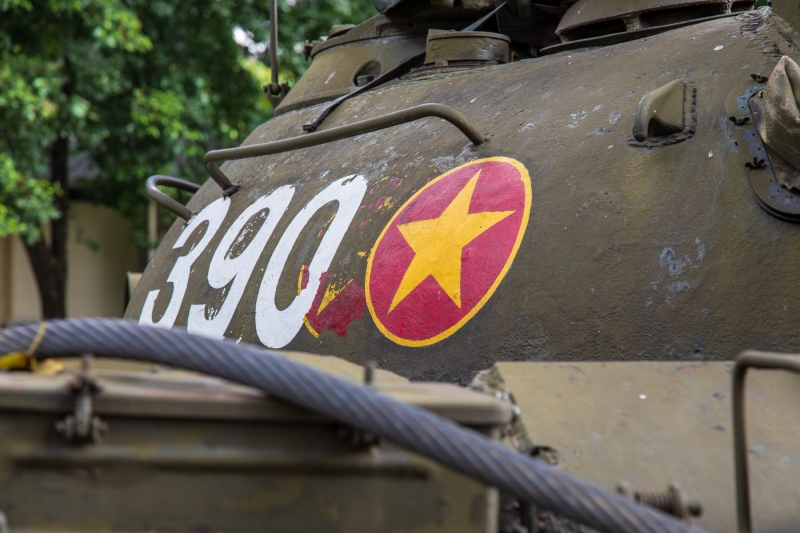 North Vietnamese Army T54 tank