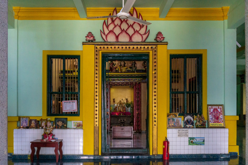 Reunification Palace shrine