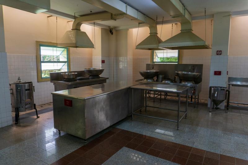 Reunification Palace kitchen