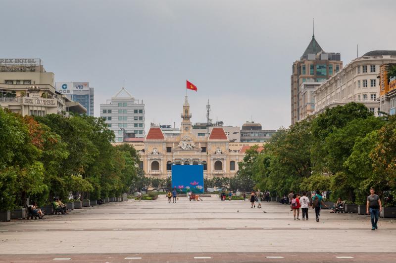 Nguyễn Huệ Pedestrian Street