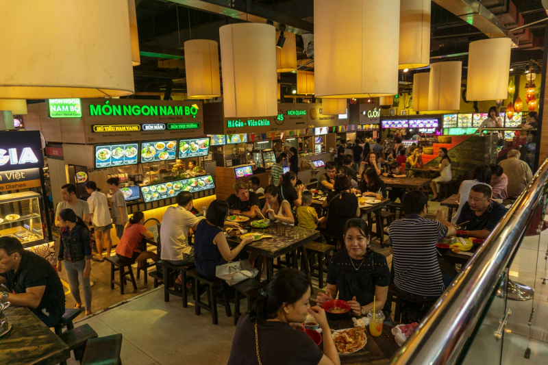 Asiana Centre foodcourt
