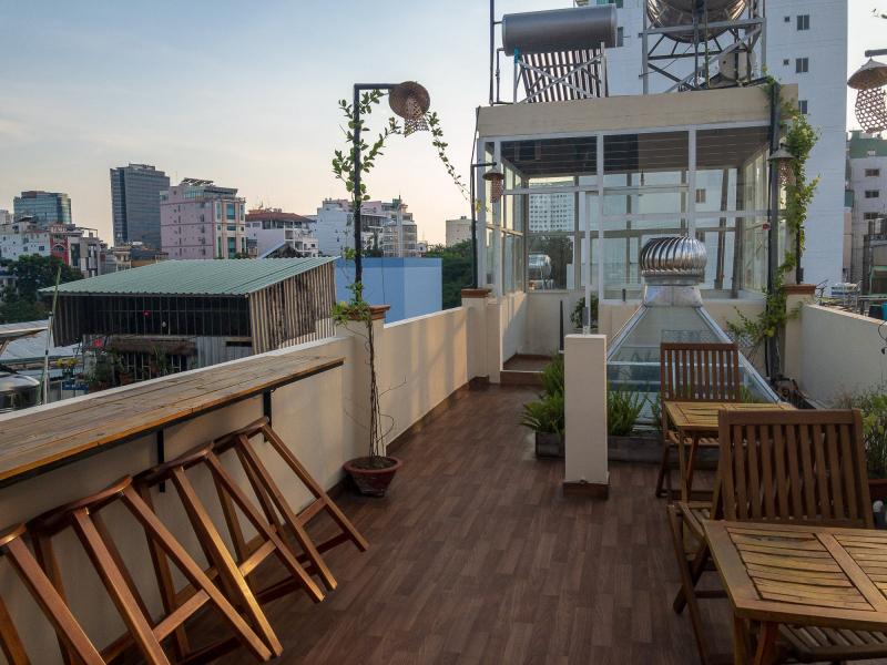 Saigon rooftop