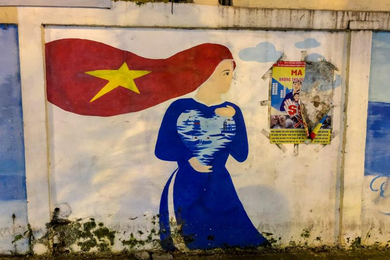 Saigon Mural