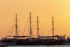 Sunset, Kusadasi Harbour