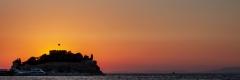 Pigeon Island sunset