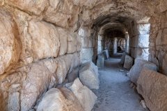 Tunnel beneath the Miletus theatre