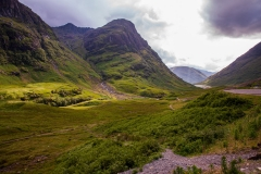 Three Sisters Massif and Glen Coe
