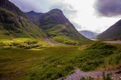 Three Sisters Massif and Glen Coe