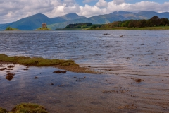 Castle Stalker and Loch Linnhe