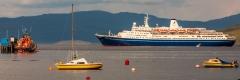 Cruise ship, Tobermory