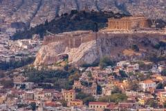 Acropolis from Agio Georgio