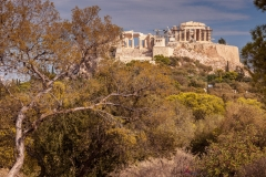 View of the Acropolis from Pnyx Hill