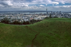 Auckland skyline from Mt. Eden