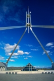 New Parliament House spire