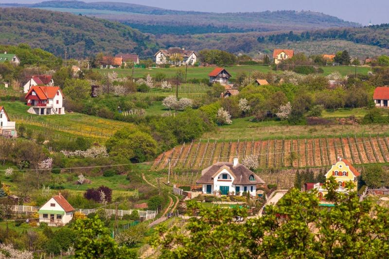 Lake Balaton villages