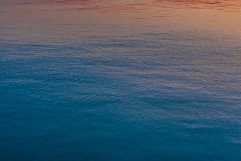 Balaton at dusk
