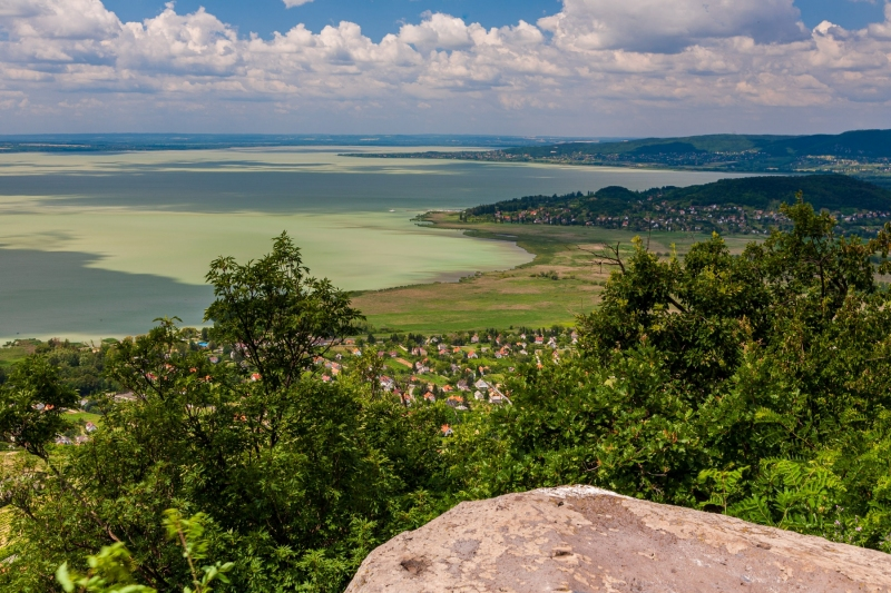 Lake Balaton from Badacsony