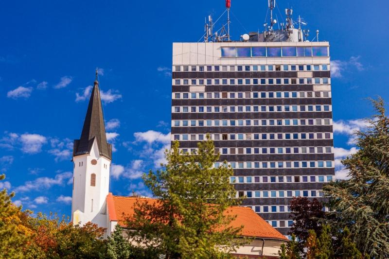 Old meets new in Veszprém