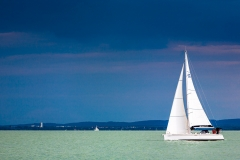 Storm over Lake Balaton