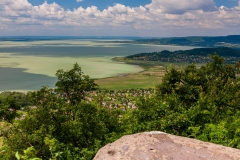 Lake Balaton from Badacsony