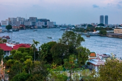 View from Wat Arun