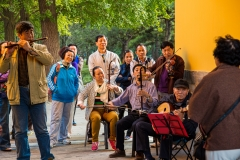 Tian Tan Park musicians