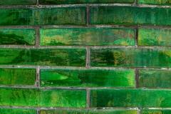 Greenstone bricks