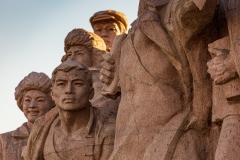 Revolutionary statues