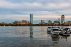 Charles River and Back Bay