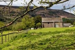 Barn, Llanthony village