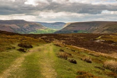 Black Mountains landscape