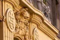Budapest building detail