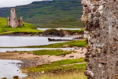 Ardvreck Castle from the Calda House