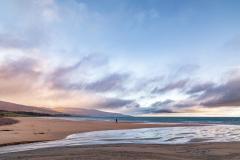 Winter skies over Brora Links