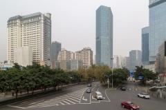 Chengdu city centre