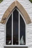 Boscastle cottage window