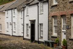 Boscastle Village Street