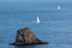 Sailing boat from Berry Head