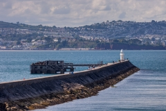 Brixham Harbour breakwater