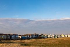 Beach huts, Mudeford Sandbank