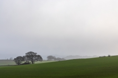 Green fields and gtrey skies, Cranborne Chase