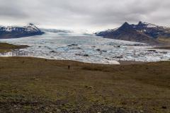 Overview of Skaftafellsjökull