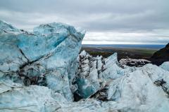 From icefall to the coast, Falljökull