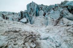 Icefall formations, Falljökull