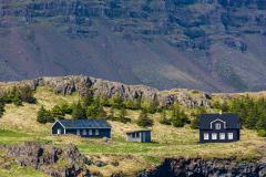 Houses in Berufjörður, Eastfjords