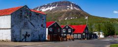 Village buildings, Reyðarfjörður