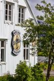 Exterior of the Kaffi Lara, Seyðisfjörður