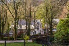 Simonsbath village