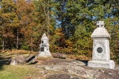Spanglers Spring memorials