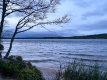 Dusk over Loch Morlich